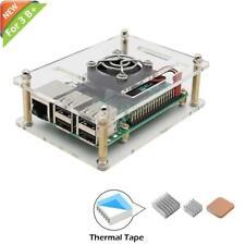Australia Raspberry Pi 3 B+ Case, iUniker Raspberry Pi Fan with Pi Case Raspberr