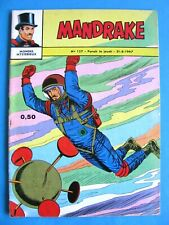 Mandrake  Monde Mysterieux N°127 Edition de Remparts