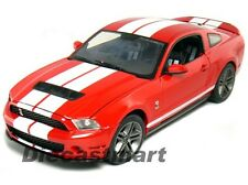 GREENLIGHT 1:18 2010 SHELBY MUSTANG GT-500 DIECAST 12816 RED