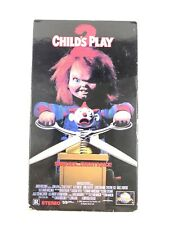 Childs Play 2 (VHS, 1990) Jenny Agutter, Alex Vincent Video Tape Horror Chucky