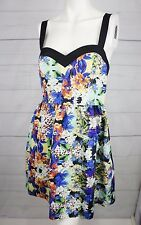 Forever New Womens Dress 10 Floral Cocktail Wedding Evening Party Festival C228