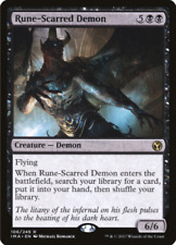 MTG - Iconic Masters - Rune-Scarred Demon x 1 NM
