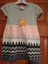 Gymboree girls winter star sweater dress size 2t nwt
