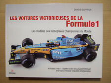 GIUFFRIDA : LES VOITURES VICTORIEUSES DE LA FORMULE 1. MODELISME. GREMESE 2010