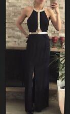 ⭐️ Womens LUMIER BARIANO Brand Size M Black & Gold Maxi Dress Rrp $149.95 ⭐️