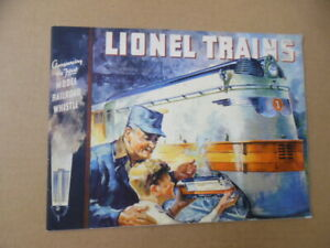 1935 Lionel Electric Trains Catalog Type IV Type I Vintage Original VG+