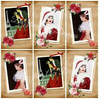 12 ART DECO MOMENTs Ideal Embellishments, Card Making Toppers, Card Toppers