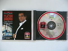 Placido Domingo Gala Concert live at Covent Garden EMI 749 811 CD