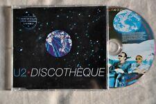 "U2 ""Discotheque"" RARE UK 5""cd single"