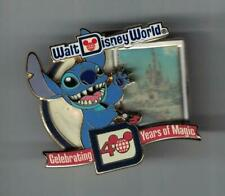 Disney WDW Celebrating 40 years of Magic Stitch Cinderella's Castle Pin Le 1500