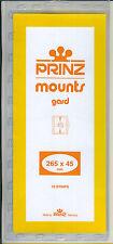 Package of 10 Prinz CLEAR Mounts 265 x 45