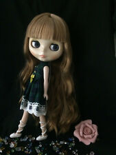 """12""""Neo Blythe Doll from Factory Transparent skin  Includes Dress&Shoes J012"""