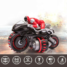 Rc Car 2.4Ghz Remote Control Motorcycle 7.2V Battery 360° Rotate Trick for Boys