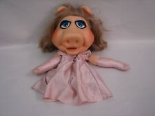Vintage 1976 Miss Piggy Muppet Fisher Price Vinyl Head Hand Puppet Jim Henson