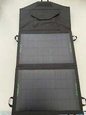 20W Solar Panel Folding Portable Power Charger USB Camping Travel Phone Charge