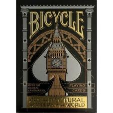 Bicycle Playing Cards - Architectural Wonders of The World Deck
