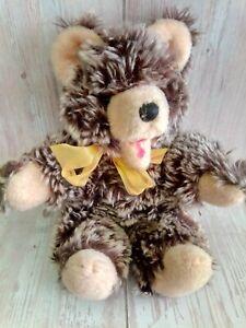 """Vintage 60's German Hermann Zotty Bear Squeaker 10"""""""