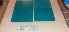 4 x PLIMPTON BAYKO UNDAMAGED GREEN BASE & 8 X BASE LINK & 16 SCREW