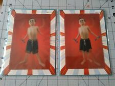 Papyrus Holographic Kid Pumping Iron Happy Birthday Cards 2 count
