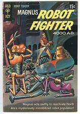 Magnus, Robot Fighter #23 (Aug 1968, Western Publishing) NICE COPY. SILVER AGE