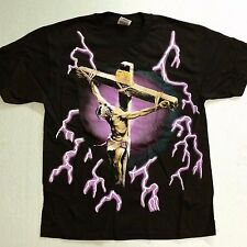Brazo's Sportswear, Jesus On The Cross Adult T-Shirt (X-Large) New
