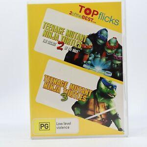 Teenage Mutant Ninja Turtles 2 & 3 Set 2007 DVD R4 GC