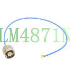 N male to SMP female microwave RG405 flexible RF coaxial 1' cable Low Loss leads