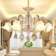 Luxury LED LIGHTS ZINC ALLOY BODY CRYSTAL CHANDELIER PENDANT LAMP CEILING LIGHT