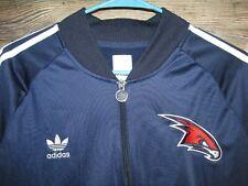 adidas NBA Atlanta Hawks Big Boys Youth 3-Stripe Track Pant 8-20 Navy