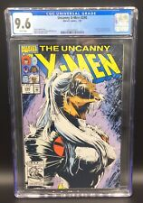 BEAUTIFUL UNCANNY X-MEN ISSUE 290 MARVEL COMIC BOOK CGC 9.6 WHITE PAGES - 1992