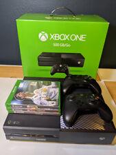 New listing Microsoft Xbox One 500Gb/Go Black Console - Model 1540 - w/ controller & 3 games