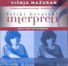 Visnja mazuran 2 CD GREAT Croatian artiste clavecin Harpsichord klavir piano