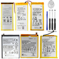 For Motorola Moto G7 G6 G5s Plus G4 Play G3 G2 Li-ion Battery Replacement +Tools