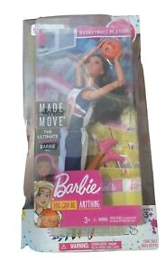 BARBIE DOLL BASKET BALL PLAYER - MADE TO MOVE- ARTICULATED - TALL