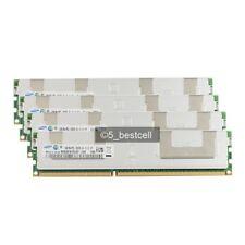 New Samsung 32GB 4X8GB 2RX4 DDR3-1333MHz PC3-10600R ECC Registered Server ram