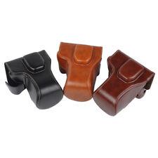 for Fuji Fujifilm X-T10 XT10 X-T20 XT20 PU Leather Camera Protector Case Bag Top