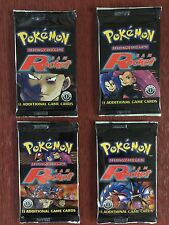 Pokemon Team Rocket booster packs mint