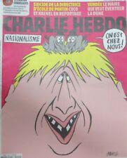 CHARLIE HEBDO N° 1422 de Oct 2019 ANGLETERRE BREXIT BORIS JOHNSON NATIONALISME