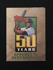 2001 Topps 50 Years Apparel & Accessories Unused Order Form Insert Oddball