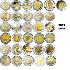 2 Euro Gedenkmünzen 2019