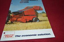 Deutz Fahr GP220 Round Baler Dealers Brochure DCPA2
