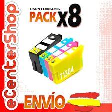 8 Cartuchos T1301 T1302 T1303 T1304 NON-OEM Epson Stylus SX535WD