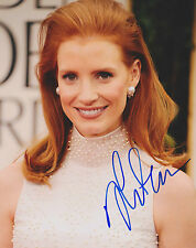 Jessica Chastain signed 10x8 Image A photo (UACC approved dealer COA) ALH