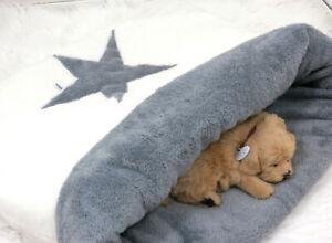 Kuschelsack 60x60 cm,Hundebett,Katzenbett,Schlafsack,Katzenhöhle,Hundedecke,Bett