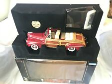 FORD1946 SPORTSMAN WOODY CABRIOLET IN MAROON NEW, SEALED,'' MINT, CLASSIC,''