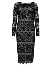 Marks and Spencer Party Long Sleeve Dresses Midi