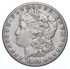 Early 1899-O Morgan Silver Dollar - 90% US Coin *356