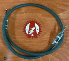 """Alchemy Audio Whisper Speaker Cable Black 39 Inches 1/4"""" Straight"""
