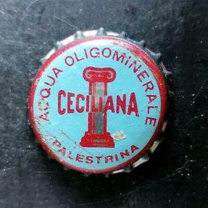 Ceciliana Roma tappo acqua minerale water bottle cap chapa Kronkorken