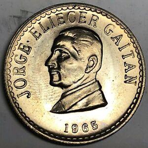 # C2986    COLUMBIA   COIN,      50  CENTAVOS      1965    Unc>